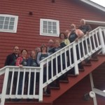 Board-on-stairs-at-retreat